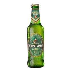 BIRRA MORETTI DOPPIO MALTO CL33X24PZ GRADO ALCOLICO 7%
