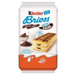 Ferrero Kinder Brioss al latte e cacao in confezione da 10 merendine 280 Gr